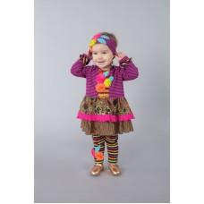 Roki&Zoi girls' clothing set RZ616