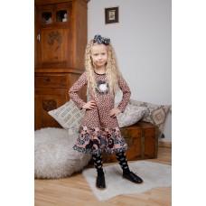 Black Forest girls' dress B1602