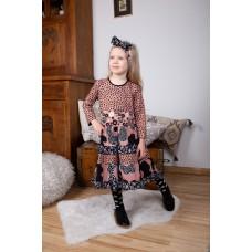 Black Forest girls' dress B1603
