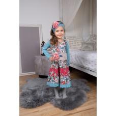Hallerbos girls' dress H1603