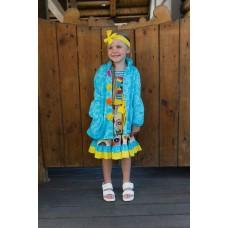Sunny Bunny girls' coat B1305