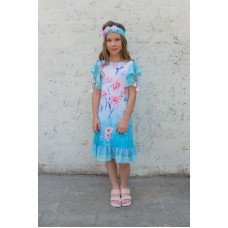 Girls' dress D1302