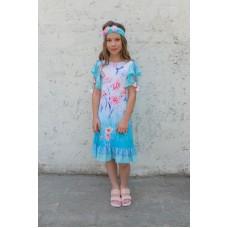 Girls' dress D1302