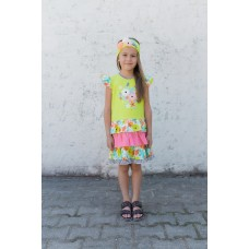 Girls' dress L1303