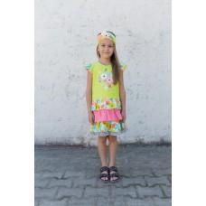 Girls' dress L1303