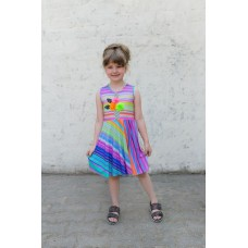 Girls' dress Z1302