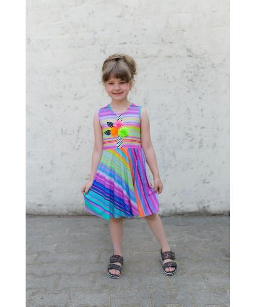 Girls' dress Z1302