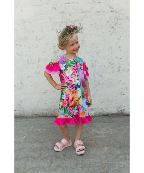 Girls' dress Z1303