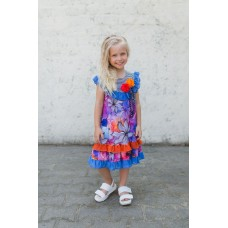 Girls' dress Z1307