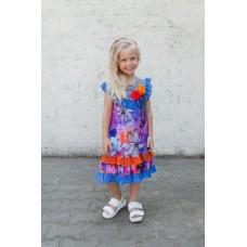 Girls' dress Z1307