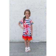 Girls' dress Z1308