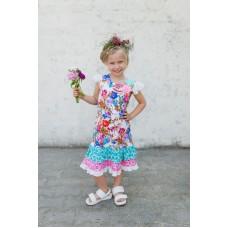 Girls' dress Z1311