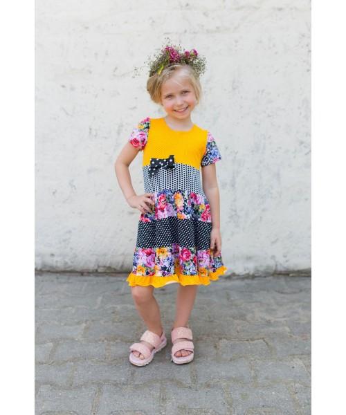 Girls' dress Z1312