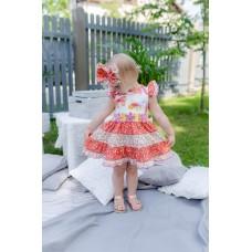 Roki&Zoi girls' dress RZ1511