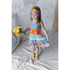Cypress girls' dress C904
