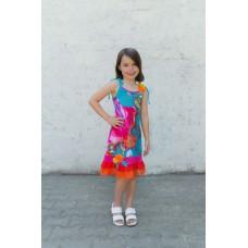 Girls' dress Z1305