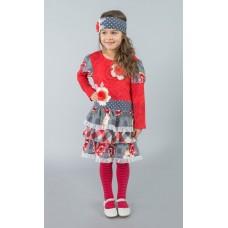 Rebecca Ruffle dress R1202