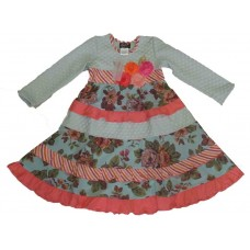 Karen girls' dress K1002