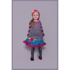 Albertine girls' dress A1001