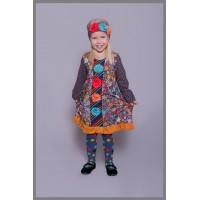 Beverly girls' dress B1002