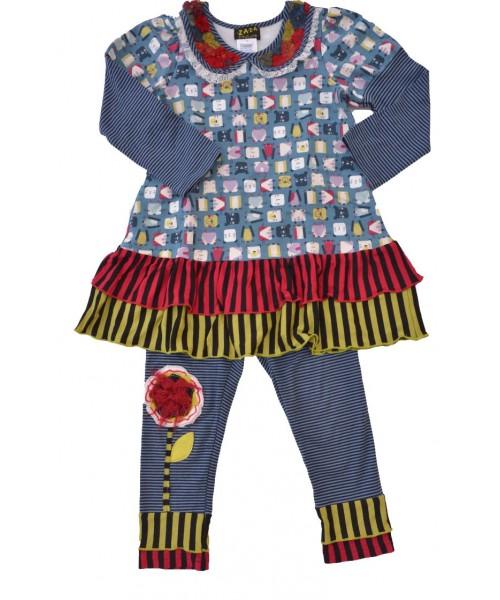 Blueberry Cake girls' clothing set B801