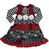Christmas Cake girls' dress C802