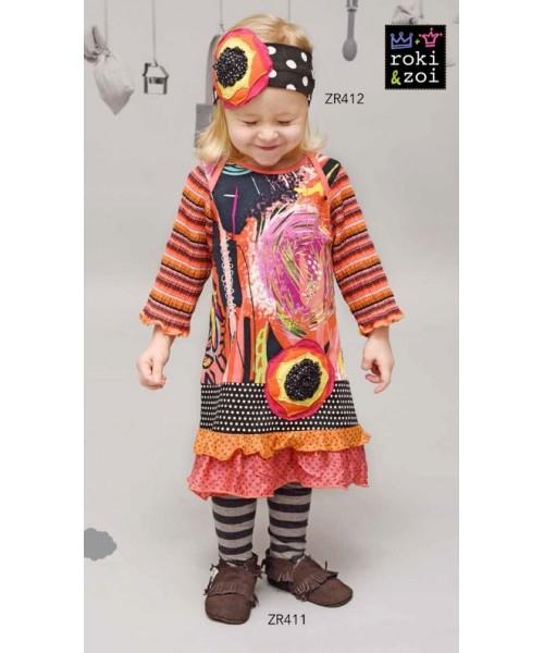 Roki&Zoi girls' dress RZ411