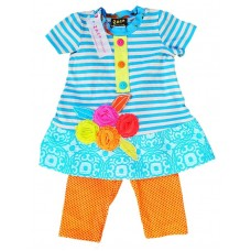 Cypress  girls' clothing set C901