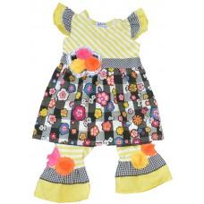 Diamondleaf girls' clothing set D901