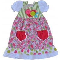 Jacaranda girls' dress  J903
