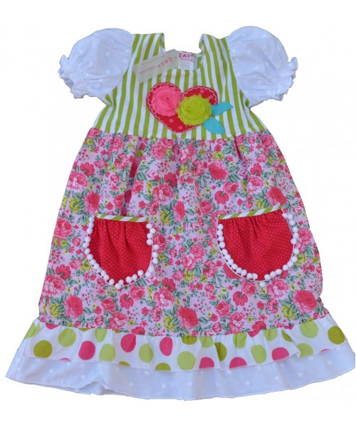 Jacaranda girls' dress  J903