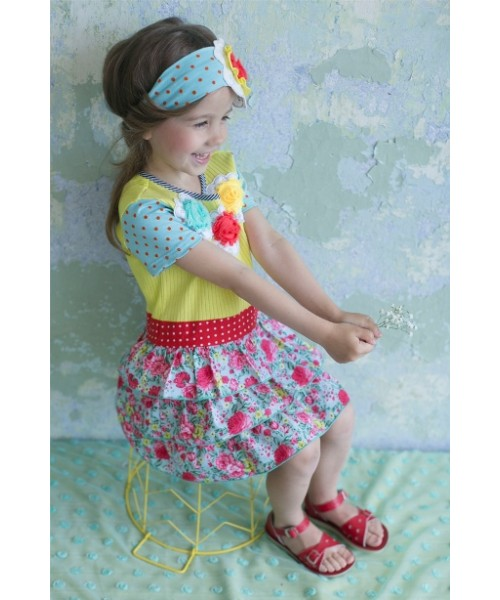 Lemon Tree girls' dress L902