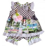 Roki&Zoi girls' clothing set RZ458