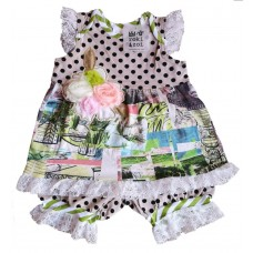 Roki&Zoi girls' clothing set RZ458