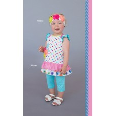 Roki&Zoi girls' clothing set RZ500