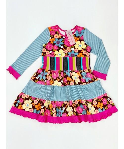 Zaza girls' dress W004
