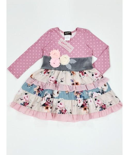 Zaza girls' dress Z040
